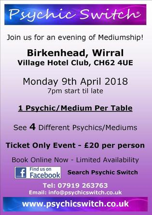 Psychic Switch Wirral