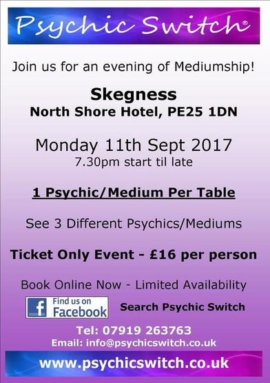 Psychic Switch Skegness