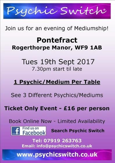 Psychic Switch Pontefract