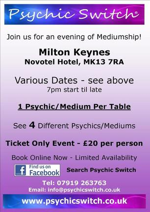 Psychic Switch Leeds Bramhope